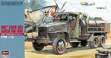 Hasegawa MT21 1/72 GMC CCKW-353 Gasoline Tank Truck (U.S. Army)