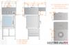 Okap uniwersalny nad piece konwekcyjne i konwekcyjno-parowe DM-S 3629  600x1500x400