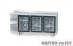 Stół chłodniczy z drzwiami przeszklonymi bez płyty wierzchniej DM 94006 1825x700x850