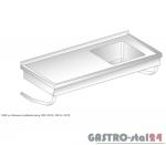 Stół ze zlewem podwieszany DM 3270 szerokość: 700 mm  (800x700x375)