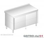Stół z szafką przelotowy DM 3118 P szerokość: 700 mm  (800x700x850)