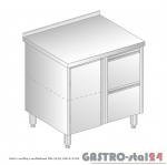 Stół z szafką i szufladami DM 3120 szerokość: 700 mm (800x700x850)