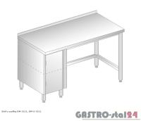 Stół z szafką DM 3111 szerokość: 600 mm (1000x600x850)
