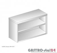 Szafka wisząca bez drzwi DM 3313 szerokość: 400 mm, wysokość: 600 mm (800x400x600)