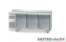 Stół chłodniczy piekarniczy bez agregatu z płytą wierzchnią nierdzewną DM 90407 1850x800x850