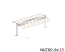 Nadstawka centralna z grzaniem i oświetleniem DM-94587 G-E wym. 1912x600x470