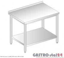 Stół do pracy z półką DM 3103 szerokość: 700 mm (600x700x850)