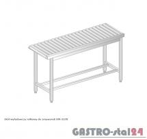 Stół wyładowczy rolkowy do zmywarek DM 3278  szerokość: 634 mm  (600x634x850)