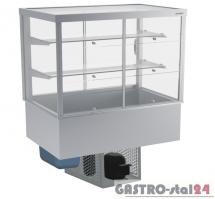 Witryna chłodnicza prosta z klapkami DM-94951.4K wym. 1420x714x1429mm