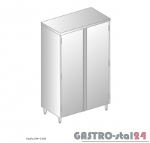 Szafa magazynowa DM 3303 szerokość: 500 mm, wysokość: 2000 mm (800x500x2000)