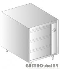 Szafka podgrzewana z szufladami MOBILNA DM 94375-K.1 600x790x720