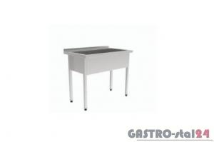Stół z basenem GT 3235 800x600x850mm, komora:400mm