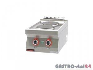 Kuchnia elektryczna 2-płyty 700.KE-2 400x700x280