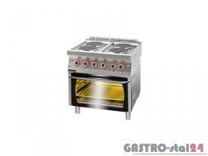 Kuchnia elektryczna z piekarnikiem elektrycznym 700.KE-4/PE-2, 800x700x900