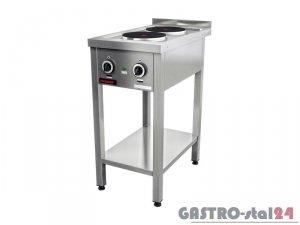 Kuchnia elektryczna 2-płytowa 000.KE-2M 400x700x850