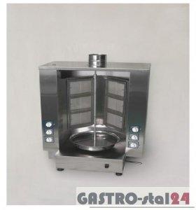 Opiekacz gazowy - gyros obudowany 6-palnikowy ADA-OG 60A