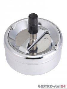 Popielnica z przyciskiem - śr. 90 mm