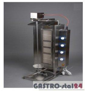 Opiekacz gazowy - gyros nieobudowany wsad: 40-60 kg ADA-OG 40