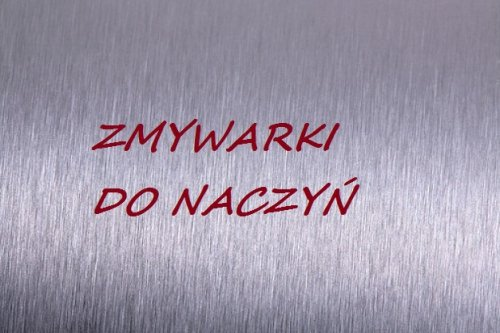 Zmywarki do naczyń