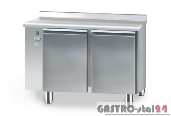 Stół chłodniczy bez agregatu z płytą wierzchnią nierdzewną DM 90002 1125x700x850