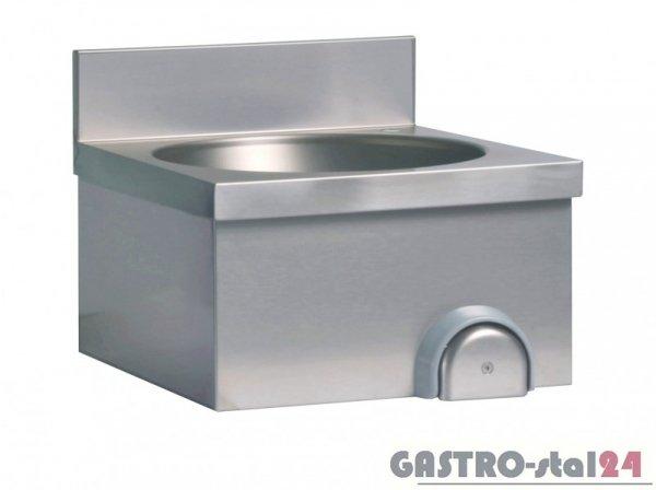 Umywalka z wyłącznikiem kolanowym DM-S 3281 400x400x235