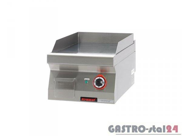 Płyta bezpośredniego smażenia gładka chromowana 700.PBE-400G, 400x700x280