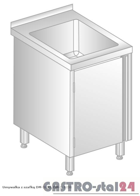 Umywalka z szafką DM 3231 szerokość: 600 mm (500x600x850)