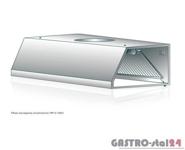 Okap wyciągowy przyścienny DM-S 3601 1000x900x400