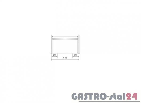 Nadstawka z grzaniem i oświetleniem DM 94582 G 1204x480x480