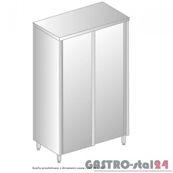 Szafa przelotowa z drzwiami suwanymi DM 3333.02 szerokość: 700 mm, wysokość: 1800 mm  (800x700x1800)
