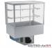 Witryna chłodnicza prosta z klapkami DM-94951.2K wym. 770x714x1429mm