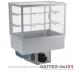 Witryna chłodnicza prosta z roletą DM-94951.2R wym. 770x714x1429mm