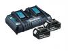 Zestaw combo Makita 5 narzędzi 4x5.0Ah 18V BL