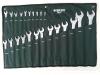 Zestaw 23 kluczy płasko oczkowych 6-32mm SATA 09027
