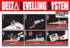 Zestaw Delta Leveling Kit system poziomowania płytek Rubi 02848 / 03903