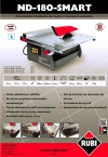 Przecinarka elektryczna Rubi ND-180 Smart (24976)