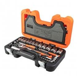 Zestaw kluczy nasadowych Bahco S560 1/4 i 1/2, 56 elementów