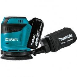 Akumulatorowa szlifierka mimośrodowa Makita DBO180RTJ 18V