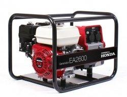 Agregat prądotwórczy z silnikiem Honda EA2600 2,6kW 40kg 96dB(A)