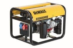 Agregat prądotwórczy DeWalt DXGN 8000E AVR PE612SHI010 6,1 kW 1-fazowy