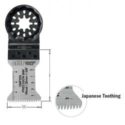 Brzeszczot oscylacyjny 35 mm CMT STARLOCK OMF205-X5 - 5 szt