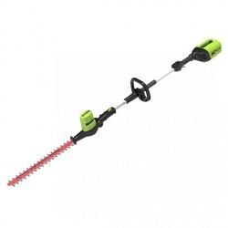 Nożyce do żywopłotu akumulatorowe na wysięgniku GREENWORKS 60V (GD60PHT) GR2300107