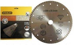 Tarcza diamentowa ciągła STANLEY 38207 230mm - beton/kamień/granit