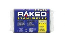 Wełna stalowa Stahlwolle RAKSO 8 Pads NR 5