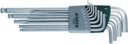 Klucze trzpieniowe ekstra długie z kulką calowych SATA 09102