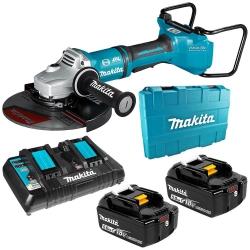 Akumulatorowa szlifierka kątowa Makita 230mm AWS DGA901T2U1 2x18V 2x5.0Ah