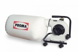 Przenośny pochłaniacz pyłu i wiórów odciąg Proma OPM-150 750W