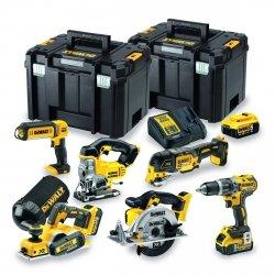 6 narzędziowy zestaw combo Dewalt 18V 3x 5.0Ah DCK665P3T - WYCOFANY