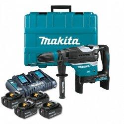 Akumulatorowa młotowiertarka SDS-MAX Makita DHR400PT4U 2x18V 4x5.0Ah
