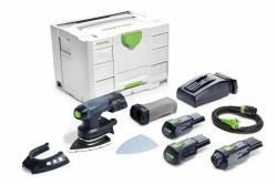 Akumulatorowa szlifierka Festool Delta DTSC 400 Li 3,1-Set 201520